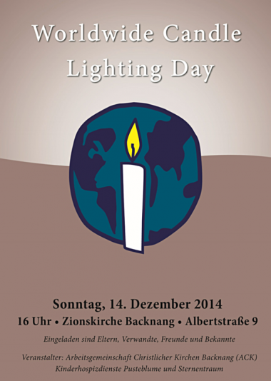 Worldwide Candle Lighting Day 2014